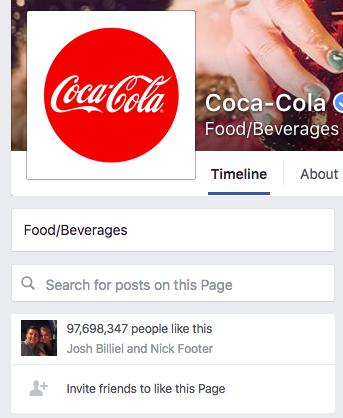 coca-cola-facebook-profile-social-proof