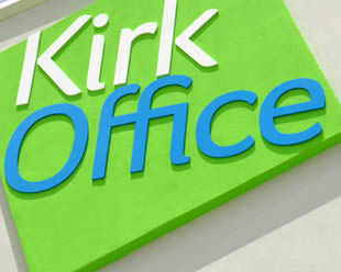 image of kirk office work
